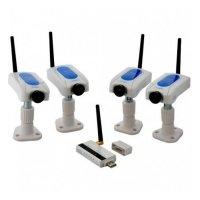 Купить Беспроводная система видеонаблюдения «Kvadro Home» в