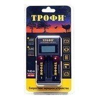 Купить Трофи TR-803 AA LCD скоростное+2 HR6 2500mAh (6/24/720) в