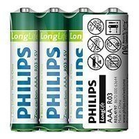Купить Philips R03 LONG LIFE [R03-P4/01S] (48/1296/62208) в