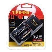 Купить Трофи TR-920 AAA компактное + 2 HR03 800mAh (6/24/768) в