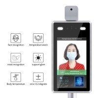 Купить Бесконтактная инфракрасная камера для определения температуры тела с распознаванием лиц в