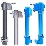 Колонки водоразборные, регуляторы расхода и давления воды