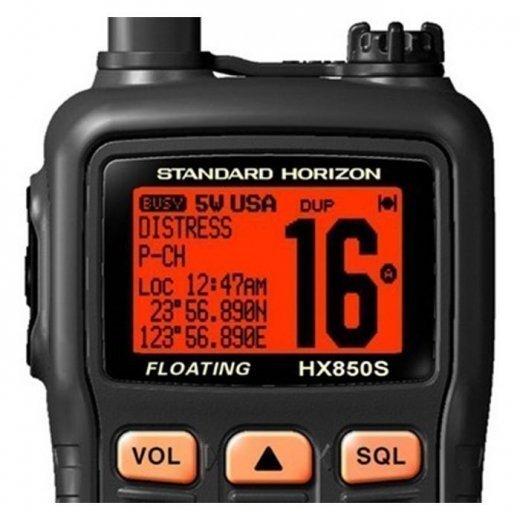 Фото Морская радиостанция STANDARD HORIZON HX-850S