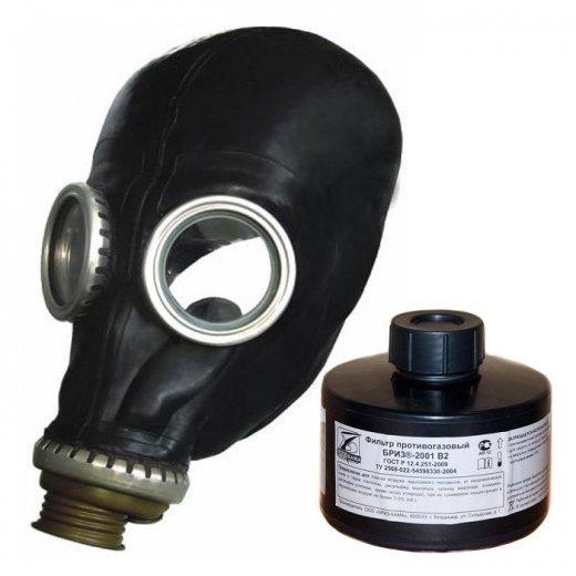 Фото Промышленный противогаз ППФ-95 (м.В2) с 1 маской ШМП