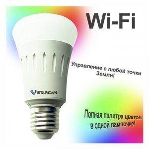 Фото WiFi лампа Vstarcam WF820