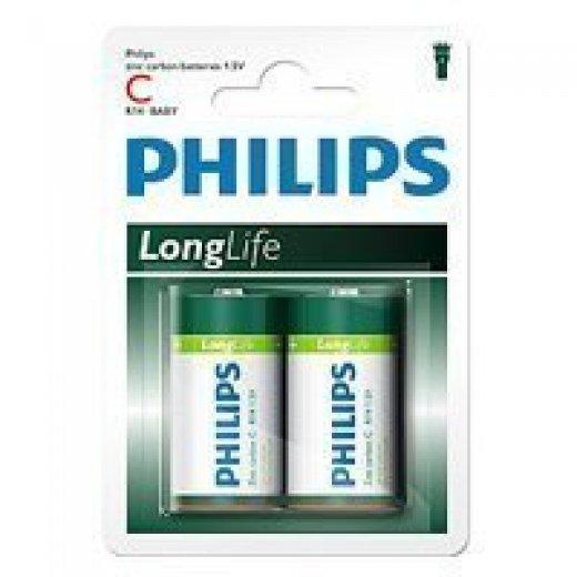 Фото Philips R14-2BL LONG LIFE [R14-P2/01B] (24/192/6912)