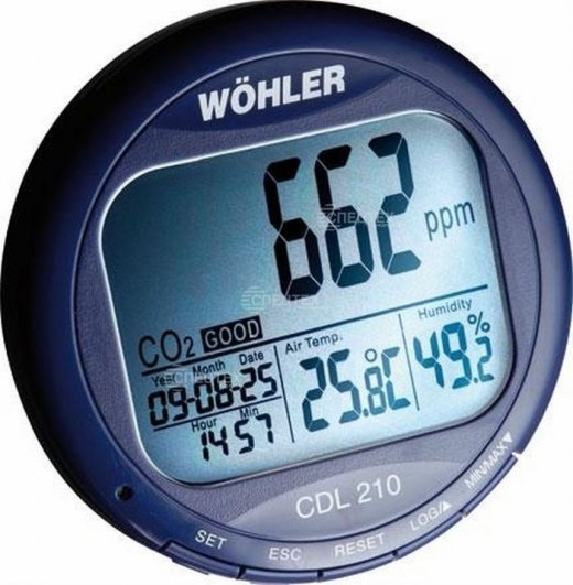 Фото Газоанализатор СО2 модель Wöhler CDL 210