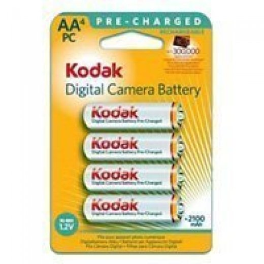 Фото Kodak HR6-4BL 2100mAh Pre-Charged [KAAHRP-4] (80/640/19200)