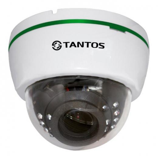 Фото Купольная IP-камера Tantos TSi-Dle2VP (2.8-12)