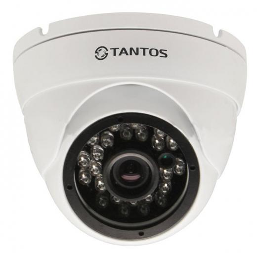 Фото Купольная IP-камера Tantos TSi-EBle2F (3.6)