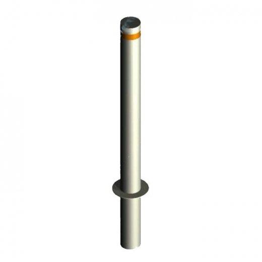 Фото Дорожный столбик бетонируемый с наклейкой