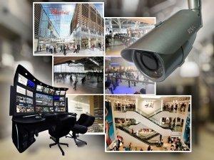 Фото Системы видеонаблюдения в различных магазинах