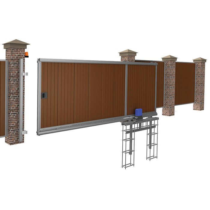 Ворота откатные комплект купить цена ворота автоматические красноярск