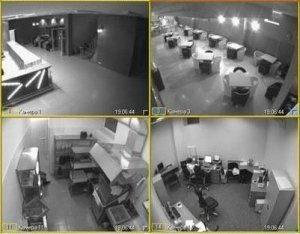 Фото Установка видеонаблюдения в офисе