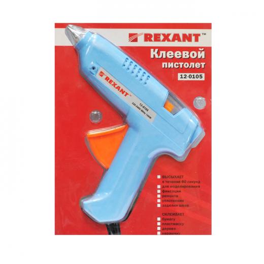 Фото Пистолет клеевой 60 Вт большой (в блистере) REXANT