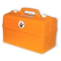 Фото Комплект медицинский для оказания первой помощи пострадавшим при пожаре в образовательных учреждениях (пластиковый чемодан)