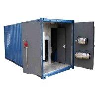 Фото Автономный пожарный модуль контейнерного типа  (АПМКТ)  с УКТП