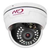 Фото Купольная AHD видеокамера MicroDigital MDC-AH7260TDN-24