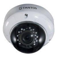 Фото Купольная AHD видеокамера Tantos TSc-DVi720pAHDv(2.8-12)