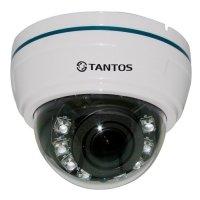 Фото Купольная AHD видеокамера Tantos TSc-Di720pAHDv(2.8-12)