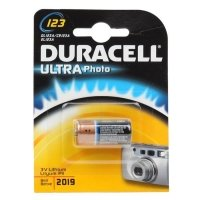 Фото Duracell CR123 ULTRA (10/50/6000)