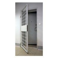 Фото Блок дверной решетчатый