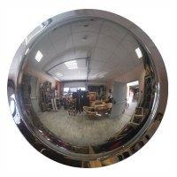 Фото Зеркало обзорное для помещений купольное Ø600 мм