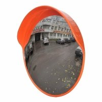 Фото Дорожное зеркало с защитным козырьком Ø800 мм