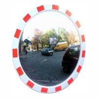 Фото Сферическое зеркало дорожное со световозвращающей окантовкой Ø600 мм