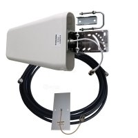 Фото Комплект антенн для модема 800-2700МГц (GSM, DCS, WiFi, 3G, LTE, антенны 2 шт и кабель 10м)