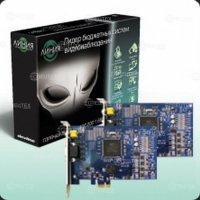Фото Плата видеозахвата Линия PCI-E 4x25 Hybrid IP на 4 камеры