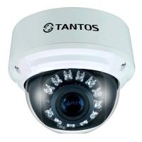 Фото Купольная IP-камера Tantos TSi-DV211V (3.3-12) Pro