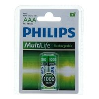 Фото Philips HR03-2BL 1000 mAh [R03B2A100/10] (2/24/11664)