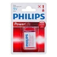 Фото Philips 6LR61-1BL POWERLIFE [6LR61/01B] (12/144/4320)