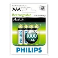 Фото Philips HR03-4BL 1000 mAh  [R03B4A100/97] (4/48/23328)