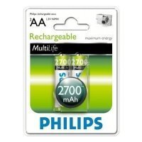 Фото Philips HR6-2BL 2700 mAh  [R6B2A270/10] (2/24/10800)