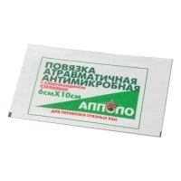 Фото Повязка антимикробная с хлоргексидином 6х10