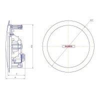 Громкоговоритель потолочный Былина – 05П