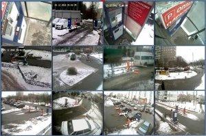 Фото Видеонаблюдение для автомобильной стоянки
