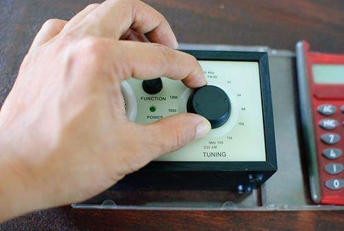 настройка металлоискателя из радиоприемника