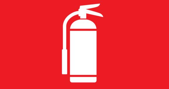 тачка где должен находиться знак огнетушителя добрый, адекватный